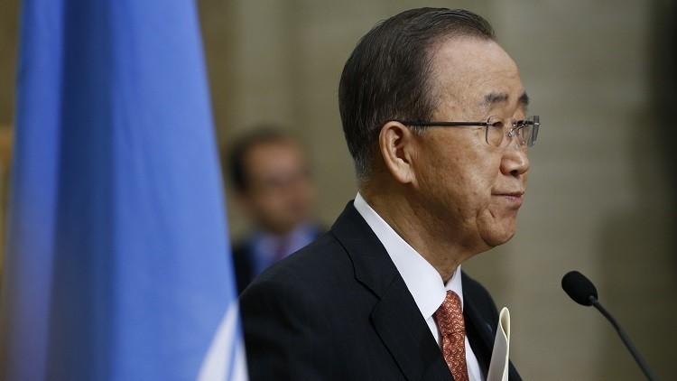 بان كي مون: القوى الإقليمية استغلت النزاع السوري لتصفية حساباتها