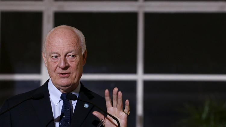دي ميستورا يعرب عن تفاؤله إزاء نتائج مفاوضات جنيف