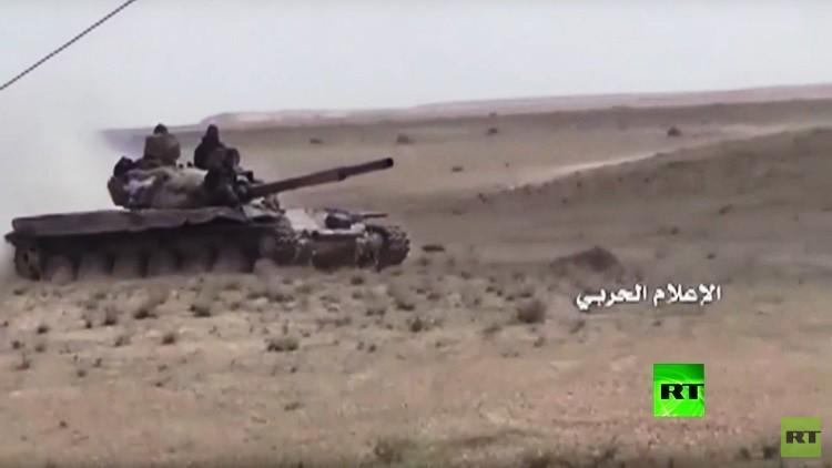 بالفيديو.. الجيش السوري يحرز تقدما بدير الزور وريفها