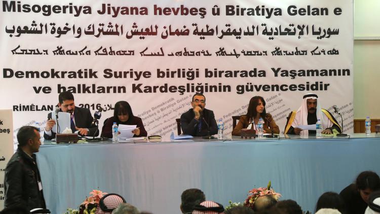 الأكراد يطلقون عملية فدرلة سوريا