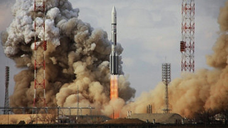 مركز فضائي روسي مسؤول عن تحطم صاروخ يدفع تعويضا ماليا لوزارة الدفاع