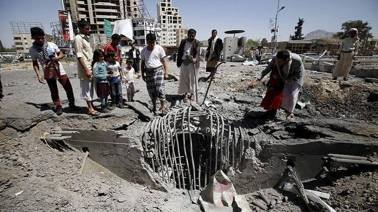 ارتفاع عدد ضحايا غارة التحالف على حجة باليمن إلى 119 شخصا