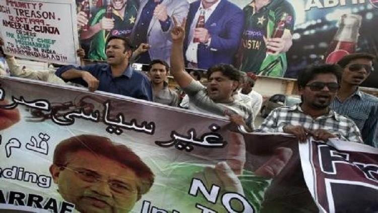 برويز مشرف يغادر باكستان لتلقي العلاج