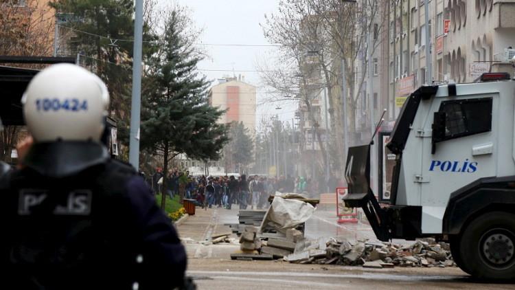 مقتل شرطي بهجوم شنه مسلحون أكراد جنوب شرق تركيا
