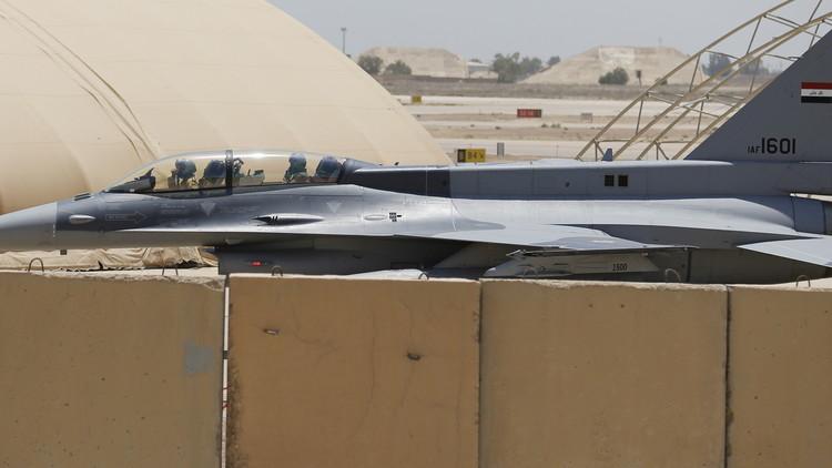 سلاح الجو العراقي يرد على إعدام داعش 3 من طياريه بالحويجة