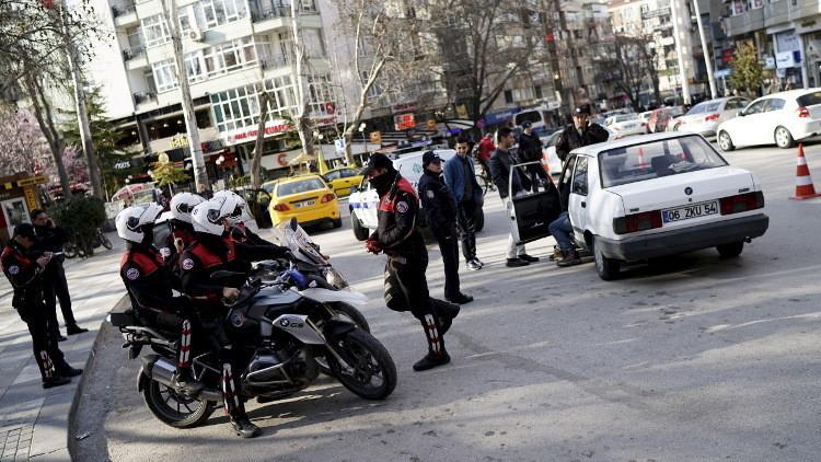 شرطي تركي يقتل زميلة له وأحد المارة في أنقرة