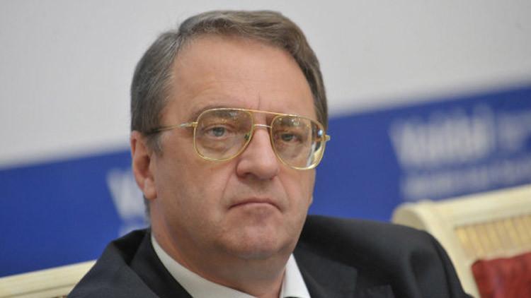 بوغدانوف: موسكو تؤيد أي صيغة يتوافق عليها السوريون