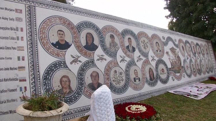 الذكرى الأولى للهجوم على متحف باردو في تونس (فيديو)