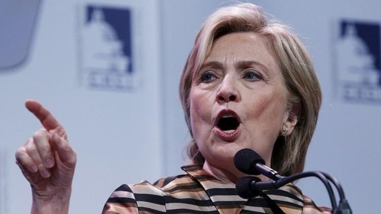 كلينتون تجمع نحو 30 مليون دولار في فبراير لحملتها الانتخابية