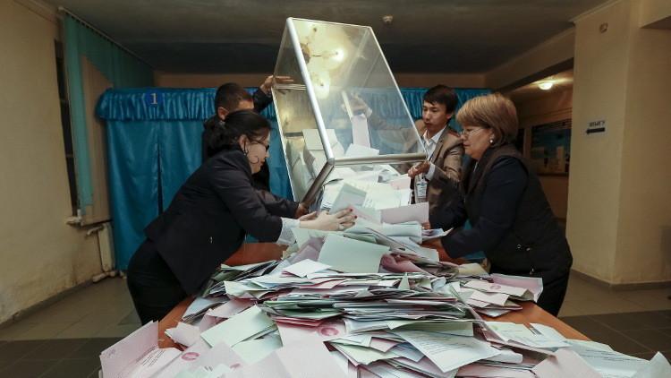 انتخابات كازاخستان.. الحزب الحاكم يحصل على 82,15% من أصوات الناخبين