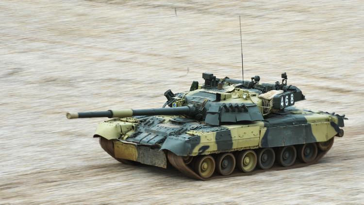 الدبابات الروسية تصد هجوما افتراضيا بأسلحة الدمار الشامل