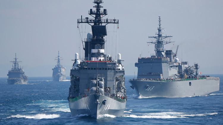 طوكيو ترسل سفنها الحربية إلى الجزر المتنازع عليها