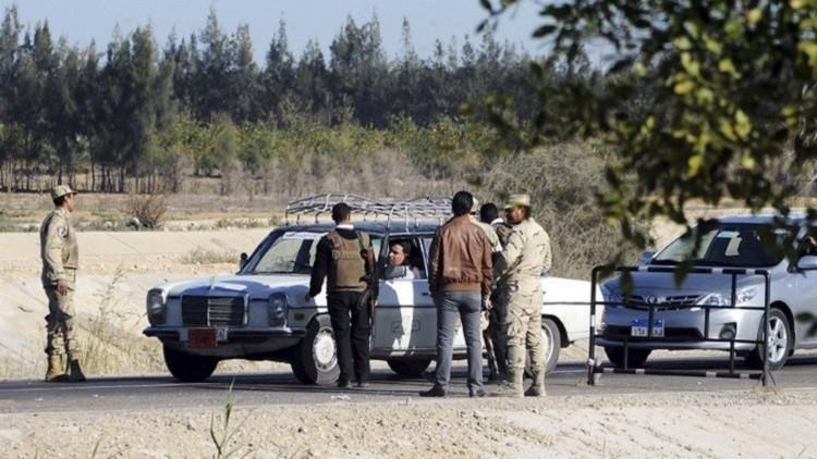 الجيش المصري يضبط شحنة كبيرة من المواد المتفجرة في سيناء
