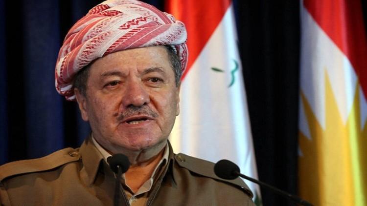 البارزاني: رغبة كردستان في الاستقلال سلمية ولا تهدد أي طرف