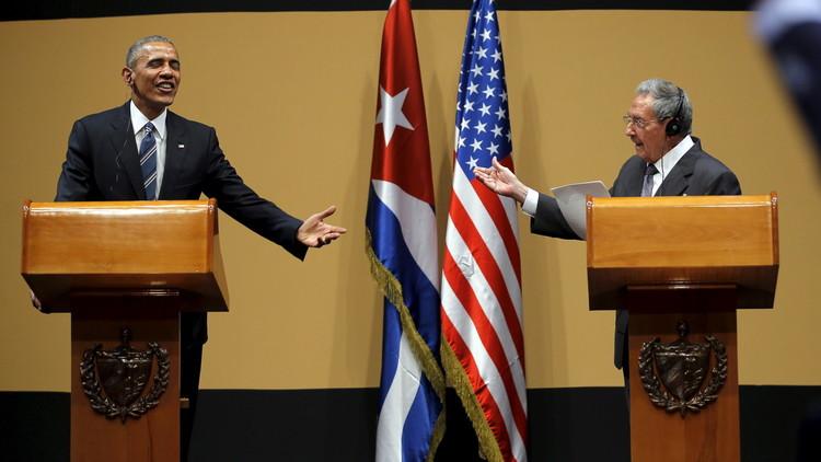 أوباما: العقوبات على كوبا سترفع عاجلا أم آجلا