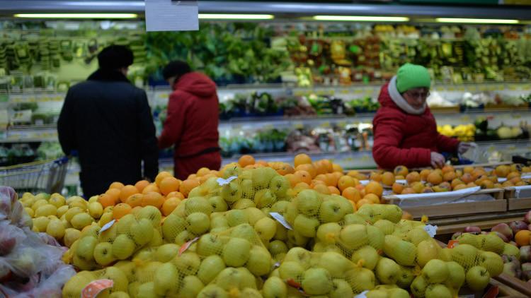 فواكه وخضروات سورية على موائد الروس