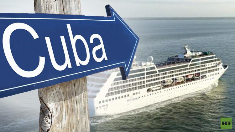 أكبر شركة رحلات بحرية في العالم تطلق رحلتها الأولى إلى كوبا