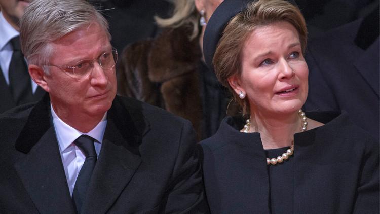 إجلاء ملك وملكة بلجيكا من بروكسل