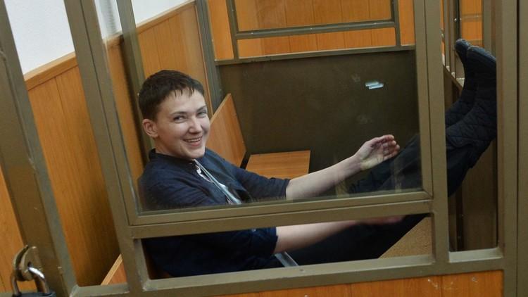 السجن 22 عاما للأوكرانية ناديجدا سافتشينكو بعد إدانتها بقتل صحفيين روسيين