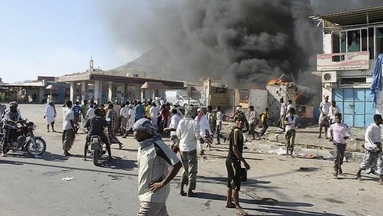 اليمن.. مقتل العشرات من تنظيم القاعدة بغارات للتحالف العربي على المكلا