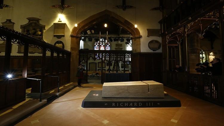 نموذج ثلاثي الأبعاد لبقايا عظام الملك ريتشارد