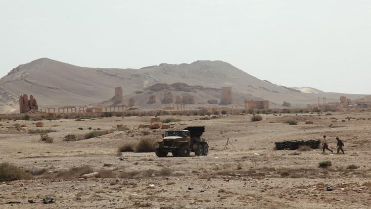 الجيش السوري يسيطر على الجزء الغربي من مدينة تدمر