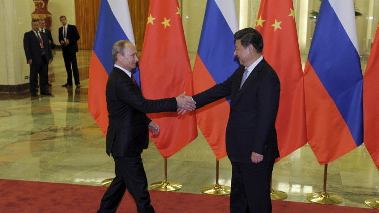 بوتين إلى بكين في حزيران المقبل