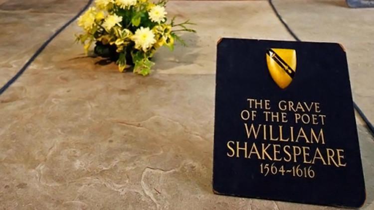 سرقة جمجمة شكسبير من قبره