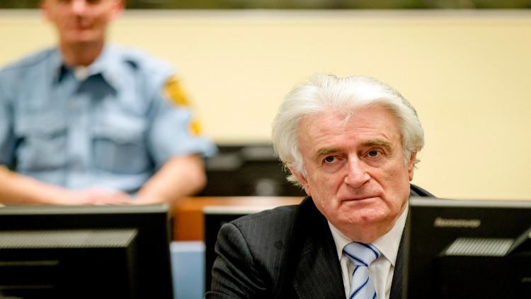 المحكمة الجنائية الدولية تحكم على زعيم صرب البوسنة بالسجن 40 عاما
