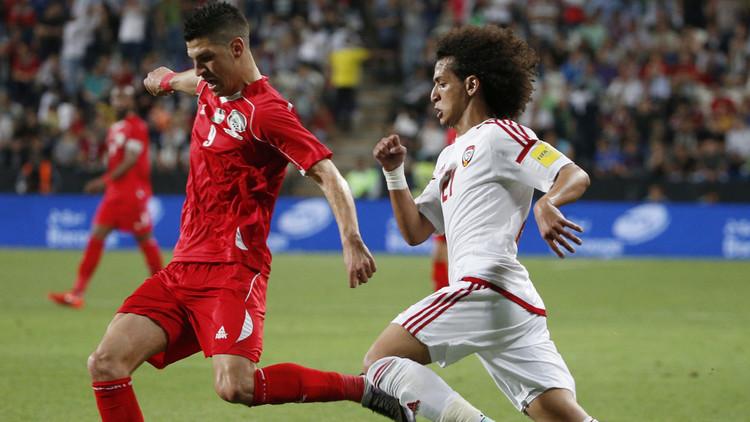 الإمارات تقضي على أحلام فلسطين في بلوغ مونديال 2018 .. (فيديو)