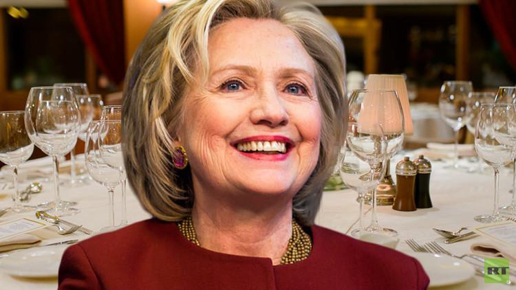 هل ترغب في تناول طعام الغداء مع كلينتون مقابل 176.7 ألف دولار؟