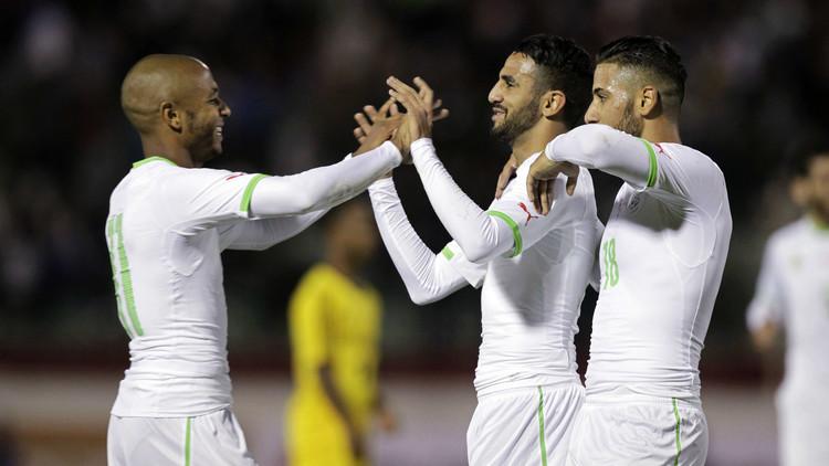 الجزائر تمطر شباك إثيوبيا بسباعية في تصفيات كأس القارة السمراء .. (فيديو)
