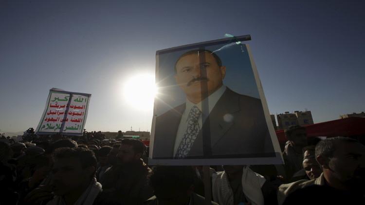 بالفيديو.. علي عبد الله صالح يظهر في صنعاء وسط أنصاره