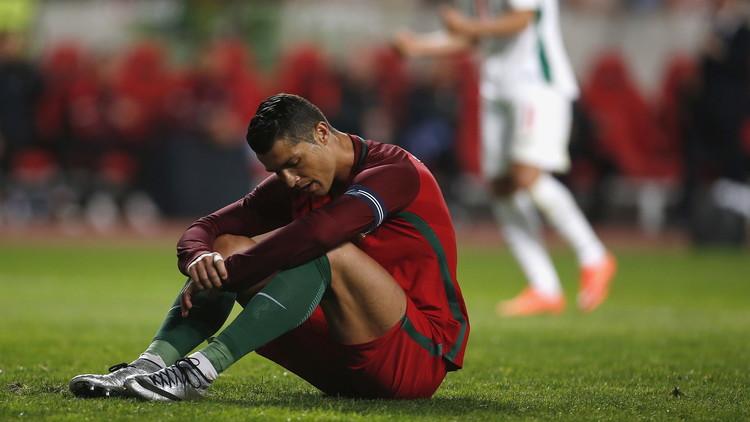 رونالدو يتسبب في هزيمة البرتغال أمام بلغاريا .. (فيديو)