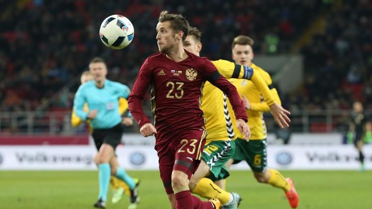 روسيا تكرم ضيفتها ليتوانيا بثلاثية وديا .. (فيديو)