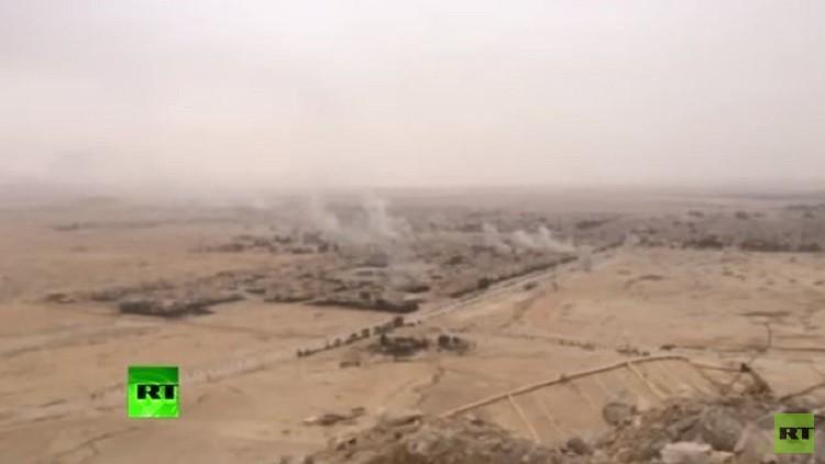 RT تنشر لقطات خاصة تظهر معارك بين الجيش السوري و
