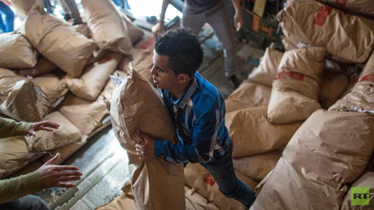 مفتي  موسكو: أرسلنا 60 طنا من الطحين للشعب السوري