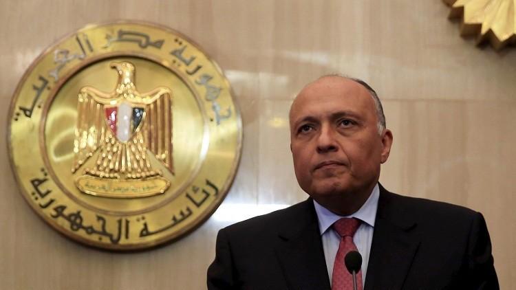 وزير الخارجية المصري: اعتبار حزب الله إرهابيا توصيف لتصرفات فقط ونحن غير معنيين بالإمعان فيه