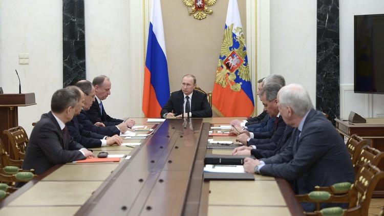بوتين يؤكد أهمية تحرير تدمر من أيدي
