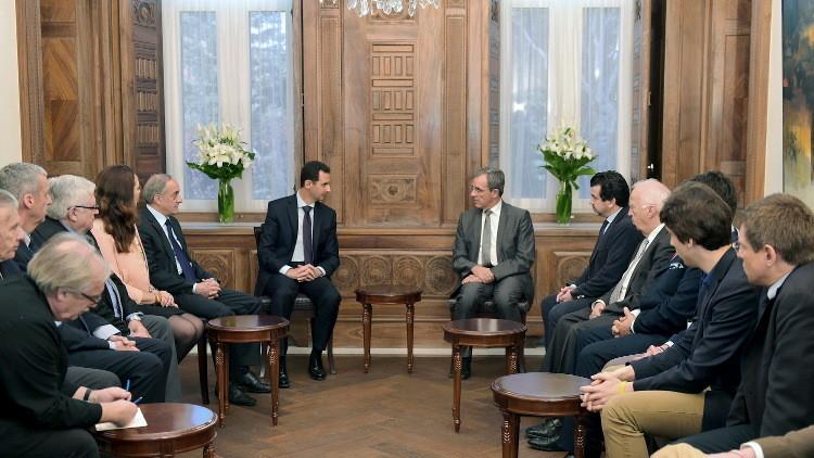 برلماني فرنسي: الأسد سيبقى في السلطة كونه يحقق انتصارات عسكرية
