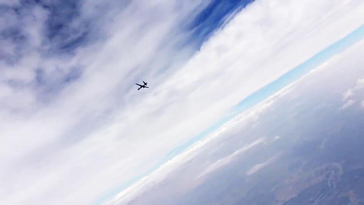 القوات الروسية ترصد طائرة تجسس بلا طيار أمريكية قرب القرم