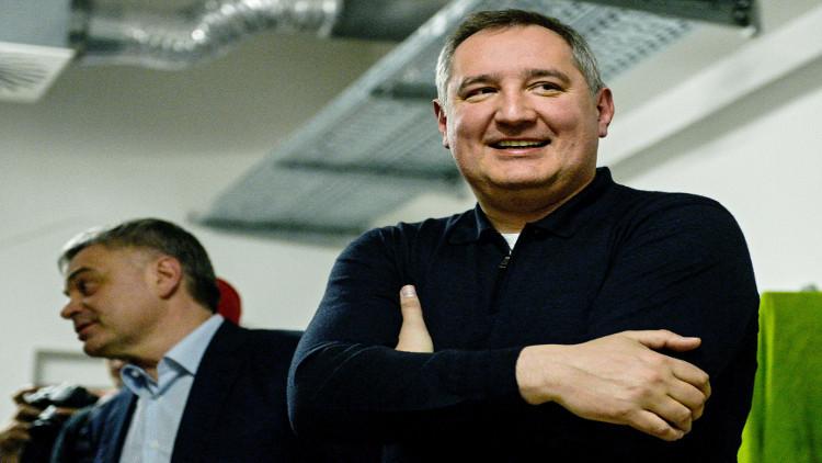 روغوزين: طلب كييف بشأن الأقمار الصناعية الروسية مثير للسخرية