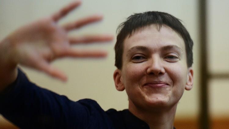 مصدر دبلوماسي روسي: الشائعات حول مفاوضات سرية بشأن سافتشينكو لا أساس لها من الصحة