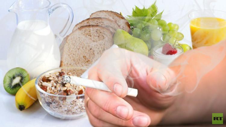 6 قواعد غذائية تساعد على تقليل ضرر التدخين