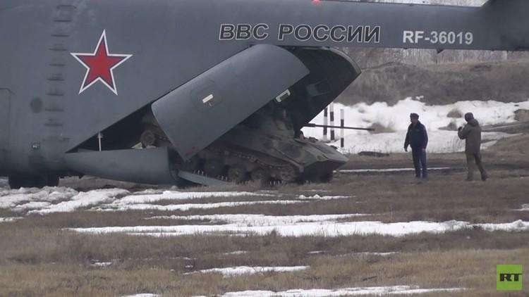 مناورات تكتيكية بمشاركة قوات روسية وبيلاروسية (فيديو)
