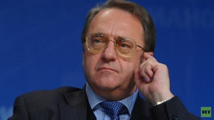 بوغدانوف: الهيئة الانتقالية في سوريا يجب أن تتشكل نتيجة المفاوضات