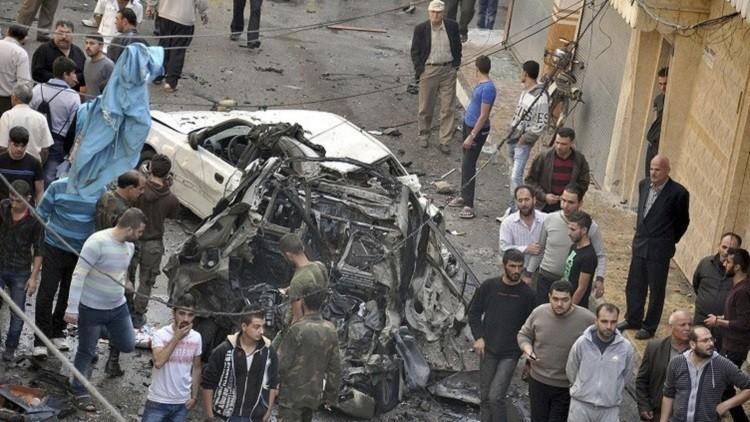 إصابة 6 أشخاص بانفجار عبوتين ناسفتين في حمص