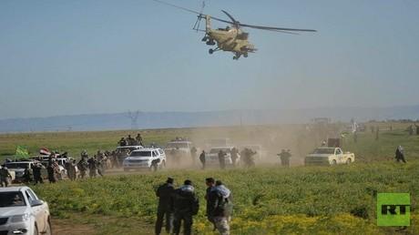 القوات العراقية تبدأ عملية سامراء وتحرر 150 عائلة من قبضة داعش