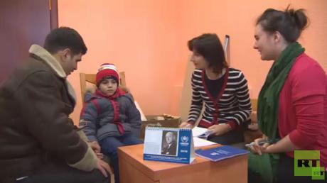 افتتاح مدرسة لللاجئين السوريين في روسيا
