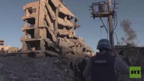 كاميرا RT ترصد الدمار الذي خلفه الجيش التركي في مدينة سيزر الكردية